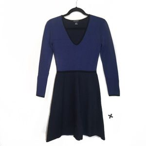 Club Monaco Wisten Sweater Fit N Flare Dress